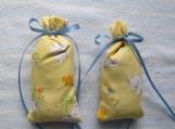 Yellow Easter 3X2 Sachet-'Fruit Slice'' Scent-Cindy's Loft-197