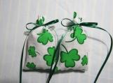 "St. Patrick's Day Ivory 4""X2"" Sachet-'Daffodil Fields' Scent-317"