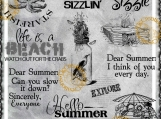 """Sum Sum Summertime"" Digi Image and Word Art Set"