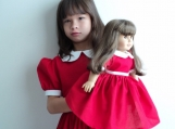 Little Orphan Annie Red Dress 4 Halloween/Stage Play Sz 12M-14yr