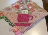Tea Time Pocket Fidget Blanket.