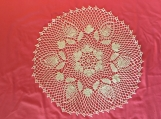 01 Crocheted Doily