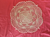 03 Crocheted Doily