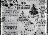 """Christmas Bonanza"" Digi Image and Word Art Set"