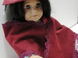 Hat, Accessory, American girl, 18 Inch, Doll, Suede, Flowers, Fe