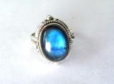 Labradorite Ring, Solid sterling silver ring, silver ring