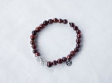 Tigereye & Argentium Silver Bracelet
