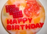 Happy Birthday Personalized Custom Designed Aromatic  Soap Cake