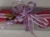 Purple Zen Glycerin Soap Beauty Gift with Jewelry, Mother's Gift
