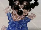 Baby Mickey Mouse Handmade with Crystal