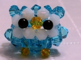 Baby Owl Handmade with Crystals