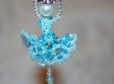 Ballerina Handmade with Crystals