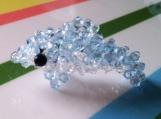 Dolphin Crystal Charm