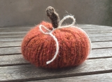 Knitted Fall Pumpkin, Fall Home Decor, Decoration, Halloween