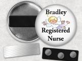 Name Badges - Personalized, Rn, Nurse, Dentist, Volunteer
