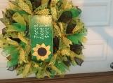 Porch sweet porch deco mesh wreath