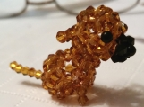 Puppy Charm Handmade with Crystals