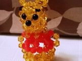 Winnie The Pooh Crystal Charm
