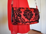 Red Gothic Purse