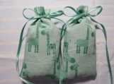 "Teal 4""X2"" Sachet-'Pineapple Crush' Fragrance-Cindy's Loft-309"