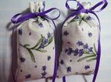 "Cream 4""X2"" Sachet-'Classic Lavender' Fragrance-Cindy's Loft-180"
