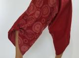 Rustic Red Super soft Coconut button up cotton pants