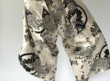 SR0005 Samurai pants with Unique Hilltribe fabric Wrap Around