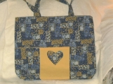 Heart design Tote Bag