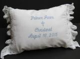 Baptism Pillow, Christening pillow