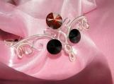 Half-Elven Bracelet, elegant bracelet, wire bracelet, Swarovski
