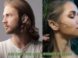 Unisex ear cuff for men, women or elves