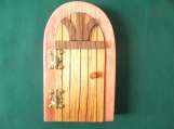 Opening Fairy Door, Castle Fairy Door, Scottish Gift, Hinged Fairy Door, Wee Folk Magical Door, Garden Decoration