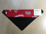 Bucky Badger Dog Scarf