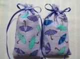 """Lavender 4""""X2"""" Sachet-'Purple Rain' Fragrance-Cindy's Loft-242"""