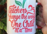 Teacher Sentiment Sublimation Mug