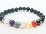Aromatherapy Diffuser Chakra Bracelet