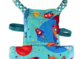 Come with me Unisex doll carrier, baby doll carrier SPACE