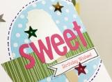 Vanilla Ice Cream Birthday Card