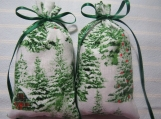 "Winter 5""X2"" Sachet-'Aspen Winter' Fragrance-Pine Trees/Snow-698"