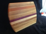 Exotic Edge Grain Cutting Board