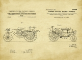 IHC Tractor Patent Art Duo-U.S. Shipping Included