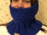Knit cowl/neckwarmer
