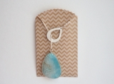 """Turquoise """"y"""" necklace"""