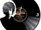 Bob Dylan  handmade vintage vinyl design clock