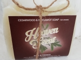 Cedarwood/Bergamot Coconut Oil Soap