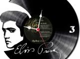 Elvis 1 Loop-store handmade vintage vinyl design clock - clone