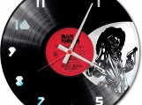 Iron maiden Loop-store handmade vintage double vinyl clock