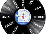 Signpost Loop-store handmade vintage vinyl clock
