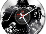 Star-wars 1  Loop-store handmade vintage double vinyl clock