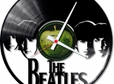 The beatles Loop-store handmade vintage vinyl clock